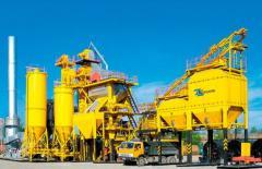 Installations asfaltosmesitelny DS-168M (160 t/h)