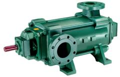 Multistage pump of a high pressure