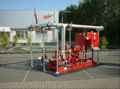 Fire stations Nijhuis (Holland)