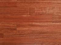 Parquet from natural wood of Bubinga Luxury (the
