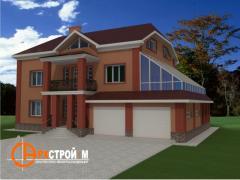 Проекты частных домов, коттеджей
