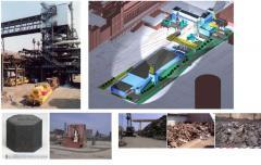 Термическая и материальная утилизация шлама из отстойников металлургических прозводств