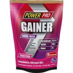 Гейнеры POWERPRO GAINER 2 KG