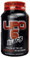 Жиросжигатели NUTREX LIPO-6 BLACK 120 КАПС