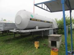 Прицеп цистерна ОДАЗ 885 ЦЖУ-6.0-1.8