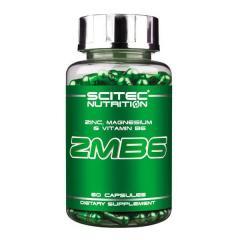 Минералы SCITEC NUTRITION ZMB6 (60 КАПС.)