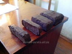 Peat briquette