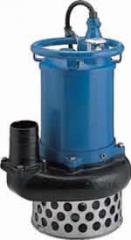 Submersible pumps for water with high content of