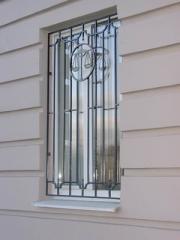 Решетка кованая на окно модель 4