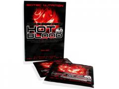 Энергетики SCITEC HOT BLOOD 2.0 BOX, 25 ПАКЕТОВ