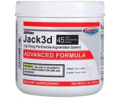 Энергетики USPLABS JACK3D ADVANCED 230 ГРАММ