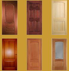 Двери межкомнатные и входные из массива дерева