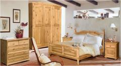 Кровать из натурального дерева. Модель Рим (Рома)