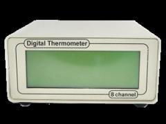 دستگاه برای اندازه گیری دما دماسنج دیجیتال:
