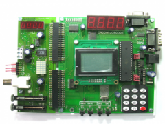 EV8031/AVR hardware and software system the LCD