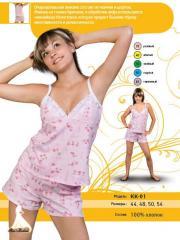 Pajamas female (KK-01 Set)