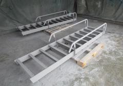 Промышленные лестницы из горячекатаных профилей