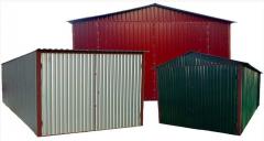 Металлические ларьки, магазины, остановки, гаражи