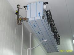 Air-cooling installations