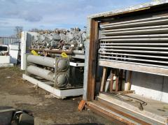 Chiller with the kozhukhotrubny heat exchanger