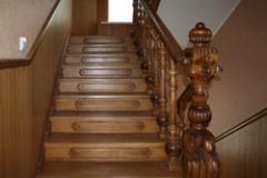 Лестницы деревянные, Украина, Ивано-Франковск
