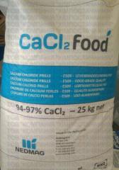 Кальций хлористый пищевой,  хлорид кальция