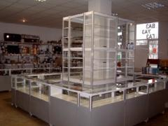 Racks for shop of automobile spare parts