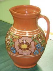 Clay jug.