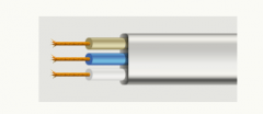 Cord connecting ShVVP 3h0,75