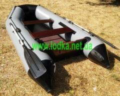 Inflatable boat under the ENERGY B-280 LUX motor