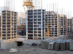 Timberings for reinforced concrete products