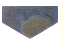 Tile from melted basalt, Hex 1/2A
