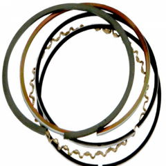 Piston rings to two-stroke engines of Cummins,