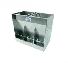 Feeding troughs, the Platinum 300 Series for the combined site of growing and sagination (KUDO)