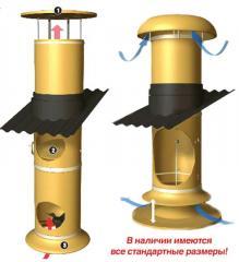 Sistemas de ventilación para la cría de cerdos