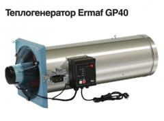 The Ermaf GP40 heatgenerator, for systems of