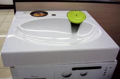 Sink on the washing machine