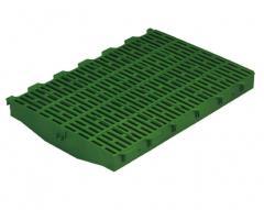 System of plastic floors