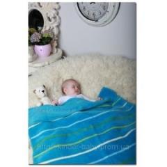 Одеяло-плед в полосочку ( Хлопок 100%!!!!!!!!! ) ,