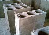 Multicyclones block combined