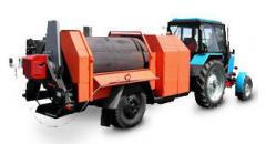 Remonter for an asphalt concrete reuse. Asphalt