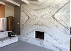 Fireplaces from marble