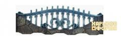 Форма для заборов №43 стеклопластикФорма Забор