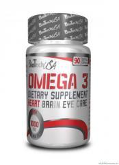 Капсулы витамины и минералы BioTech Natural Omega