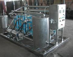 Pasteurization installation