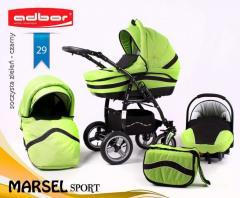Коляска с автокреслом Adbor Marsel Sport 3 в 1