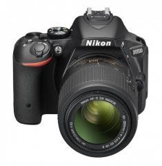 Цифровой зеркальный фотоаппарат Nikon D5500 +