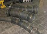 Изогнутые трубы с  наполнителем EUCOR
