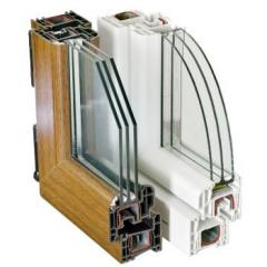 The double-glazed window is single-chamber,