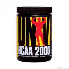 Universal Nutrition BCAA amino acids of 2000 120